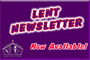 Lent Newsletter